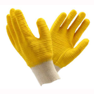 (LG-019) 13t Latex Coated Labor Protective Safety Work Gloves pictures & photos