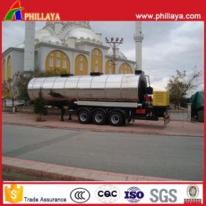 Heating Asphalt Bitumen Storage Tank for Semi Trailer pictures & photos