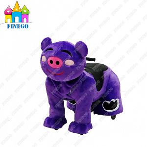 Waterproof Furry Electric Drivable Kids Riding Animal with Cheap Price pictures & photos