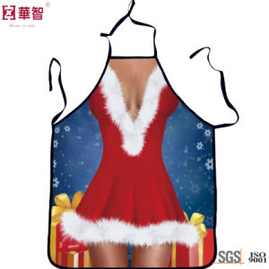 Customized Printed Christmas Kitchen Apron pictures & photos