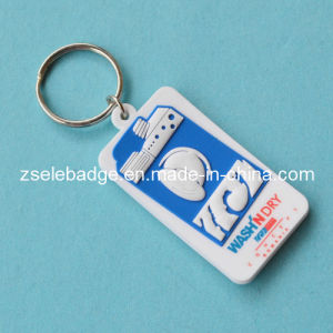 Custom Soft PVC Keychain with Printing Logo pictures & photos