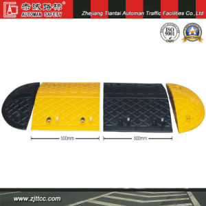 1000*350*50mm Industrial Rubber Traffic Calming Hump (CC-B02-1) pictures & photos