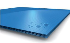Waterproof Corrugated Plastic Sheets / PP Corrugated Plastic Board