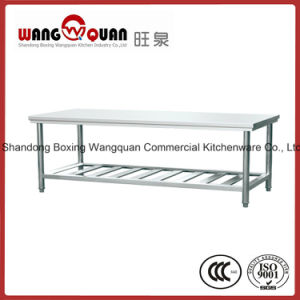 Factory Direct Stainless Steel Workbench 2 Tier pictures & photos
