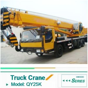 2016 New 25ton Truck Crane Qly25 with Best Price