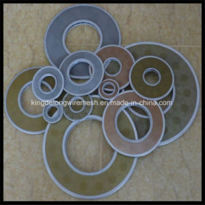 Stainless Steel Woven Wire Mesh Filter Discs with Wrapped Edge pictures & photos