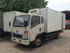 Sinotruk HOWO Light Truck 4X2 Refrigerator Units Trucks