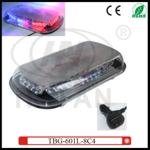 Dual-Color LED Mini Lightbar for Security Cars (TBG-601L-8C4) pictures & photos