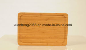 Bamboo Cutting Board with Juice Groove pictures & photos