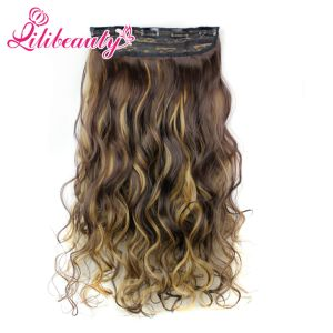Hot Clip in Hair Extension Five Clips Synthetic Hair Clip pictures & photos