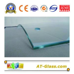 3-19mm Bent Tempered Glass/Toughened Glass/Safety Glass/Deep Processing, Polishing Edging, Hole Punching pictures & photos