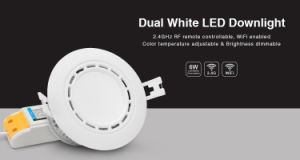 LED WiFi Downlight with Color Temp. Adjustable and Dimmable pictures & photos
