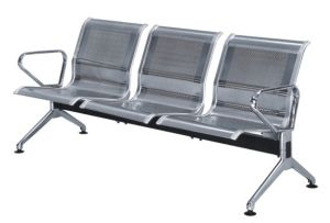 Stainless Steel 3-Seater Waiting Chair for Airport Bus Station (YA-51) pictures & photos