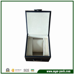High Quality Special Design Blue Leather Watch Box pictures & photos