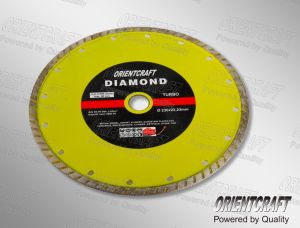 Flat Turbo Diamond Saw Blade