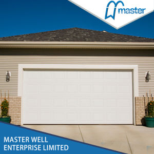 Electrical Polyurethane Insulated Cheap Sectional Garage Doors pictures & photos