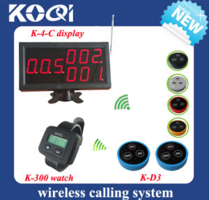 CE Approved 433.92MHz Service Bell System for Restaurant pictures & photos