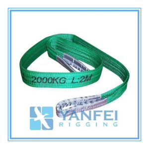 2t Polyester Webbing Sling ISO4878/En1492-1/Asme B30.9 pictures & photos