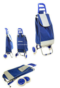 Collapsible Shopping Trolley Bag (KM7090) pictures & photos