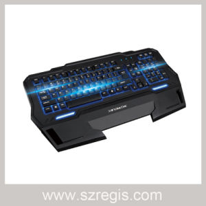 Internet Cafe Cool Game Backlit Wire Keyboard pictures & photos