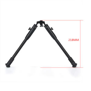 Rifle Bipod Tactical Plastic Bipods for Scope Aluminum Bipod for Hunting Cl17-0025 pictures & photos