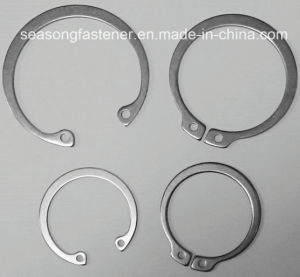 Stainless Steel Retaining Ring / Circlip (DIN471 / DIN472) pictures & photos