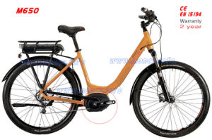 Middle Driven Motor 8fun 500W Electric Bike E Bicycle Scooter Disc Brake Shimano Speed Gear pictures & photos