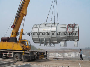 Horizontal Submersible Axial Flow Pump for Large Capacity Water Drainage pictures & photos