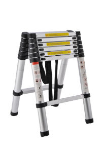 Telescopic Ladder (3.2m+3.2m) pictures & photos
