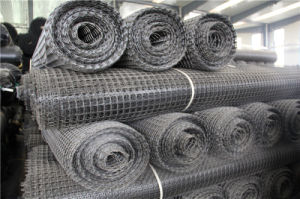CE Certificated High Quality Civil Engineering Polyester Geogrid Price pictures & photos