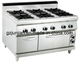 Gas 6-Burner Range with Electric Oven (LUR- 890-6EV) pictures & photos