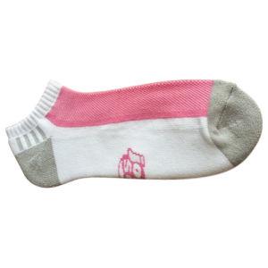 Ankle Cushioned Sport Socks with Cottn for Women (cw-01) pictures & photos