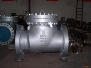 "16""Wcb Class 600 Swing Check Valve (H44H-600LB-16"") pictures & photos"