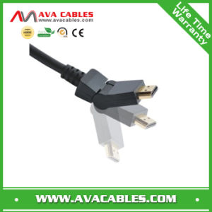 Rotate HDMI Cable with Black PVC Jacket (HC031)