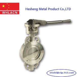 Stainless Steel Pneumatic Hydraulic Butterfly Valve pictures & photos