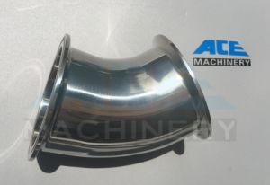 Stainless Steel Sanitary 45D Bend Elbow with Clamp (ACE-WT-G4) pictures & photos