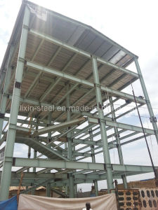 High Rise Steel Structure Building Fram (Sudan bank building) pictures & photos