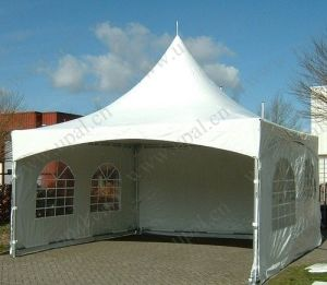 High Quality 5X5m Pagoda Tent with PVC Window pictures & photos