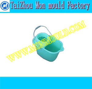 Plastic Injection Houseware Mop Bucket Mould pictures & photos