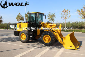 Wolf Loader 1.7m3 3 Ton Wheel Loader with Ce Zl30g pictures & photos