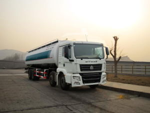 Low Density Powder Tank Truck 8X4, Volume of Tank: 38.5 Cubic Meters pictures & photos