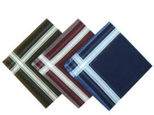 100% Cotton Brocade Mens Pocket Handkerchiefs pictures & photos