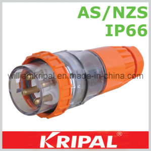 IP66 4 Pin 32A Waterproof Plug pictures & photos