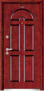 Steel Wooden Door (JC-A030) pictures & photos
