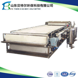 New Automatic and Continuous Rubber Belt Vacuum Filter with ISO9001 pictures & photos