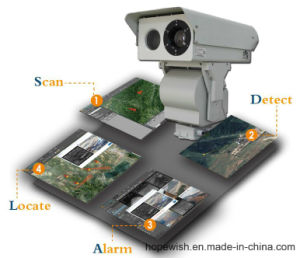Fire Detection IR Thermal Camera PTZ with Alarm (2-6km) pictures & photos