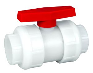 PVDF Socket/ Welded Ball Valve (Q61F-6F) pictures & photos
