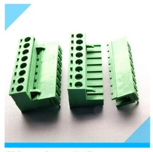 China Factory Pluggable PCB Terminal Block (5.0mm 5.08mm) pictures & photos