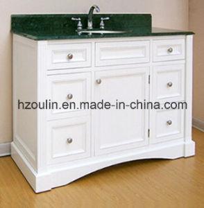 White Modern MDF Bathroom Vanity (BA-1140) pictures & photos