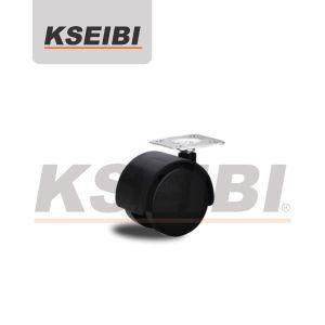 Kseibi Swivel Plate Plastic Nylon Furniture Caster pictures & photos